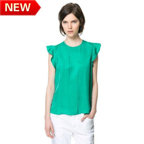 2013 Summer New Fashion European And American Style Sleeveless Chiffon ...