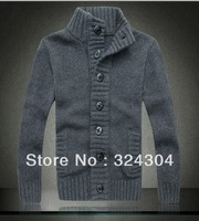 Hot Winter Men New Slim Mens Knit Pullover Coat Sweater Large Size