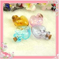 2pcs Aroma perfume bottles(Assorted Colors),Aroma pendant vials,essential oil vials,murano glass diffuser bottle pendant