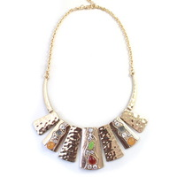 Luxury Antique Fashion Shiny Rhinestone Lady Girl Necklace Retro Unique Short   99X332