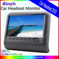 high quality 9 inch universal car headrest dvd player car monitor for ALL CAR with digital screen such BMW ,Toyota