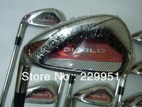 Left  golf clubs.Lfet Edge golf irons set (3----9#,W, S)true temper dynamic gold steel S300 shaft