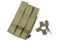 TMC Tri Mag Pouch for Kriss Vector GBB SMG ( Khaki ) TMC2121-KK