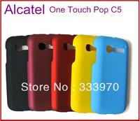 2PCS 10% OFF!! Unique Fashion Phone Hard Back Case For Alcatel One Touch Pop C5 Phone Cover Fits Fits Alcatel Pop C5 Covers