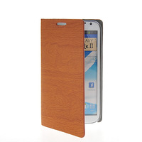 Fashion Luxury Plank stripes PU Leather Flip Cover Case For SAMSUNG Galaxy Note 2 II N7100 FREE SHIPPING