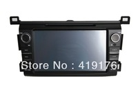 "Hot sale!HD8"" Car DVD For RAV4   2013 car dvd,dvd gps +TV,IPOD,Bluetooth 3D Rotating UI+PIP+DVD+SWC+Telephone book+Radio/RDS"