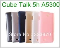2PCS 10% OFF!! 6 Colors High Quality Unique Fashion Hard Back Case For Cube Talk 5h Phone Cover Fits Cube A5300 Covers