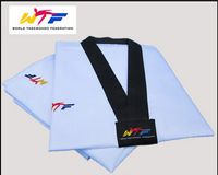 Taekwondo wtf clothes taekwondo clothes child adult myfi cotton 100% cotton