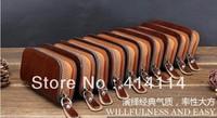 Auto for KIA k2 k3 k5 key wallet cover shell keyrings key holder key bag case keychain genuine leather car accessories