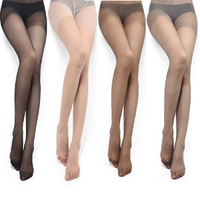 W501 Core-spun Yarn pantyhose plus file packing wire ultra-thin meat female stockings