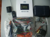 Free shipping Russian Version Cheapest two way car alarm starline A92 car alarm system by EMS/DHL