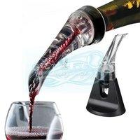 Essential Set Quick Aerating Pourer Decanter Red Wine Bottle Mini Travel Aerator
