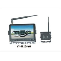 Car/Truck Digital Transfer Wireless Auto Reversing Monitor with Wireless Camera,9inch Rear View Monitor BY-08209SW