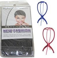Glueless Full Lace Wig Cap Inside Inner Caps Net Wig Mesh Cap Wig Stand