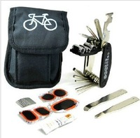 bicycle bag Multifunctional tool bag bicycle tire repair tools tire set levers combination  outdoor bag