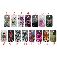 100Pcs/Lot Flower Hard Case For Huawei G610S G610,UK USA Flag Case