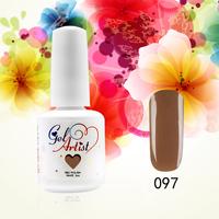 Choose 12PCS from 551 Colors Gelartist  color Gel nail tools Soak Off UV gel color Nail Art