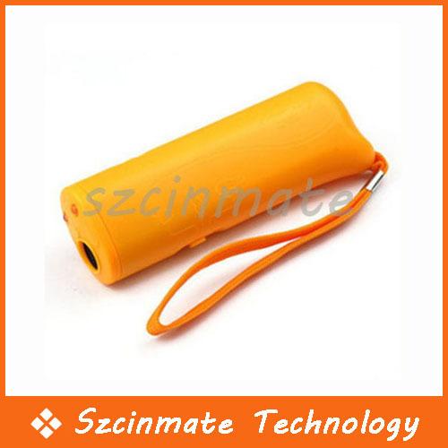 Portable Ultrasonic Dog Pet Repeller Training Device Collar Trainer Deterrent Bark Stopper 500pcs/lot Wholesale(China (Mainland))