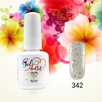12 PCS  Gelartist Gel colors nail polish UV Gel Soak off  nail art Choose from 551 Colors 15ml/0.5oz