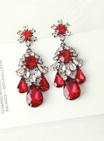 New 2014 Hot sale Trend fashion earring shourouk crysta vintage statement shourouk Earrings for women jewelry Factory Price