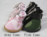 free shipping dog shoes denim Camouflage /non-slip/ sport / running shoes