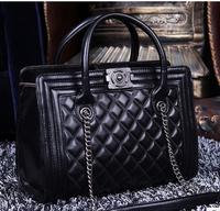 Guaranteed 100% sheepskin leather Chain Bags handbags women famous brand designer Handbag genuine leather shoulder messenger bag