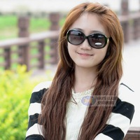 2013 sun glasses female big box sunglasses fashion sunglasses polarized sunglasses myopia
