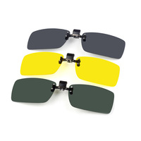Myopia sunglasses male sunglasses Women polarized clip night vision goggles glasses clip