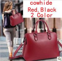 HOT!!!!New 2013 fashion women genuine leather handbags brand CICOO cowhide handbag one shoulder bag messenger bag totes 2colors