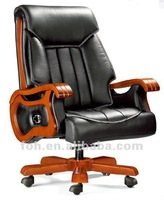 High Quality Classic Leather Executive Office Chair ( FOHA-60# )