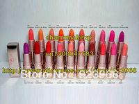 New brand Makeup lip stick 20 different colors,(20 pcs/lots)20pcs free shipping