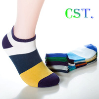 Free shipping male polyester cotton sports socks casual men's solid color half tube socks 5 pairs basketball socks