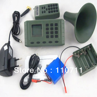 Free Shipping Factory Discount Promotion Bird Caller Control MP3 Player CP-380 for Hunting Bird with remote controller