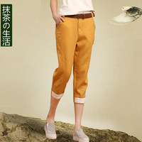 Warm clothes new arrival 2013 casual pants female linen capris