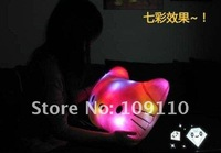 Music-emitting Hello kitty LED Pillow luminous Versatile pillow cartoon voice sensing light pillow super cute for birthday gift