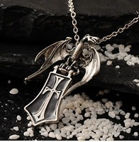 Free shipping Gothic series Shelter goth punk  alternative jewelry personalized necklace unisex neckace drop shipping