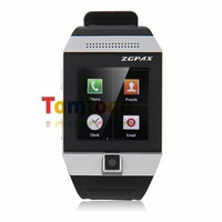 ZGPAX S5 Smartphone Smart Watch Android 4.0 MTK6577 Dual Core 1.5 Inch GPS 5.0 MP Camera -Silver