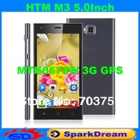 Feiteng HTM M3 Phone With MTK6572 Android 4.2 Dual Core 5.0 Inch Capacitive Screen Smart Phone(3G GPS Can Choose)