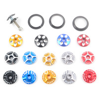 Free shipping 1sets/14pcs Bicycle jackknifed bowl bowl screw base bowl