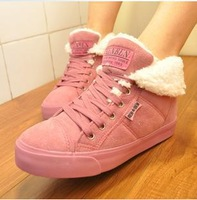 2013 hot-selling autumn winter women sneaker velutinous thermal liner snow boots high-top increased winter boots shoes woman