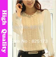 autumn summer new 2014 woman blouse women blusa big size blouses chiffon shirt women camisas chiffon blusas roupas femininas