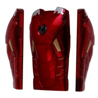 1 PCS Cool 3D Iron Man Mark VII Armor Protective Hard Back Case For iPhone 4 4S New Free Shipping