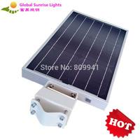 ALL IN ONE new design solar integrated street/garden light 15W