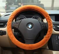 Steering wheel cover steering wheel cover winter plush mink Korean car to set the thermostat