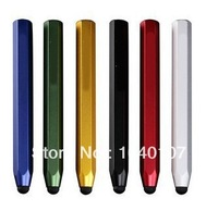 Free shipping Pencil Shaped small Hexagon Aluminum Stylus Pen touch for Capacitive Screen