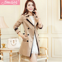 2013 autumn women's gentlewomen trench outerwear