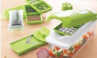 Nicer dicer plus multifunctional fruit and vegetable shredder tv salad cooking device set