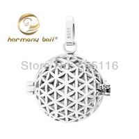 Flower harmony bola ball pendant