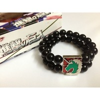 Anime Attack On Titan the gendarmerie regimen Badge cosplay bracelet  free shipping 5 pcs/lot C1204