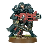 Forge World 40K Battle Sister with Heavy Bolter FW Resin Kit